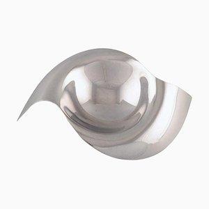 Modernist Bowl in Sterling Silver by Allan Scharff for Georg Jensen