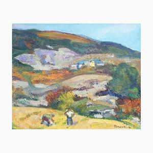 Coltivatori Working the Fields di Louis Toncini, 1989