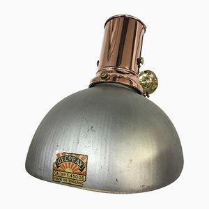 Kupfer Wandlampe von GECoRay, 1920er