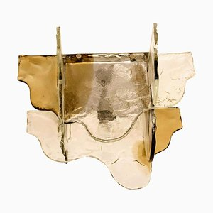 Murano Glass Flush Mount by Carlo Nason for Mazzega, Italy, 1960s