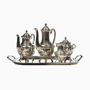 Antiker Kaffee- oder Teeservice in Silber