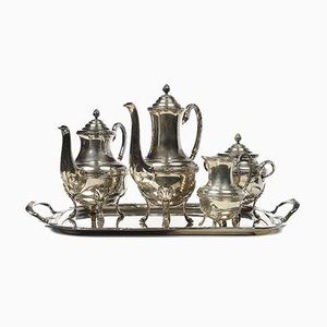 Antique Coffee or Tea Service in Silver Set
