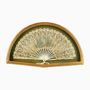 19th Century Framed Fan