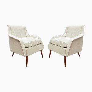 802 Armchairs by Carlo de Carli for Cassina, 1950s, Set of 2