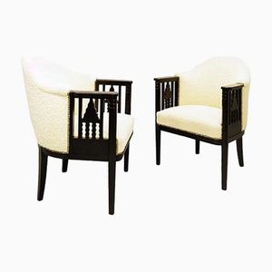 Austrian Armchairs, 1910, Set of 2