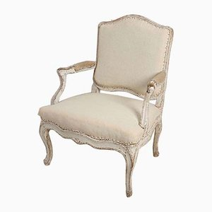 18th Century French Original Painted Chair
