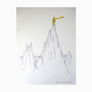 Little Prince on Summits after Antoine De Saint Exupery