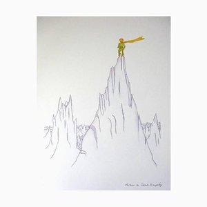 Little Prince on Summits nach Antoine De Saint Exupery