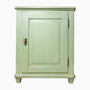 French Low Cabinet in Green, 1900s