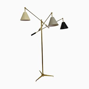 Model 12128 Triennale Floor Lamp by Angelo Lelli for Arredoluce, Italy, 1940s