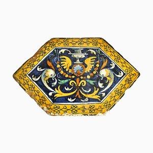 16th Century Italian Ceramic Grotesque