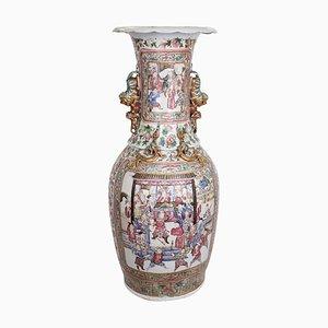 Chinesische Qing Dynastie Baluster Vase