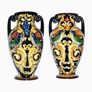 Vintage Ceramic Vases from Renato Bassanelli, Italy, 1924, Set of 2