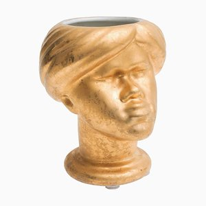 Vintage Moro Head Vase by Piero Fornasetti, Italy, 1960s