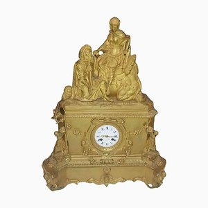 19th Century Table Clock from Leroy & Fils