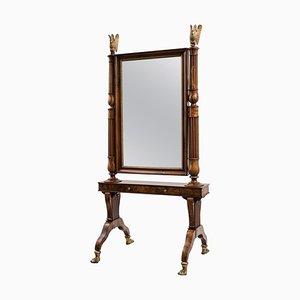Miroir Style Empire, Italie, Début 19ème Siècle