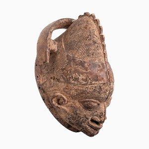 Antique Nigerian Yoruba Wooden Mask