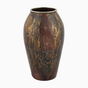 Vintage Art Deco Vase in the Style of Claudius Linossier