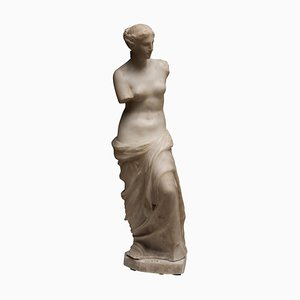 Carrara Marble Sculpture Copy of Venus de Milo, 1820s