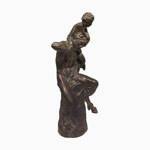 Satyr Skulptur von Aurelio Mistruzzi, Italien, 1930