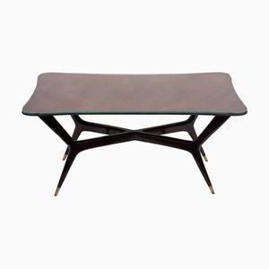 Tavolo vintage in legno di Gio Ponti, anni '50
