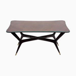 Vintage Tisch aus Holz von Gio Ponti, 1950er