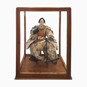 Late-18th Century Japanese Samurai Doll