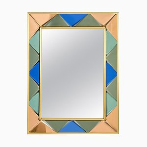 Vintage Mirror from Cristal Art, 1960s