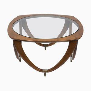 Vintage Italian Coffee Table by Melchiorre Bega, 1950s