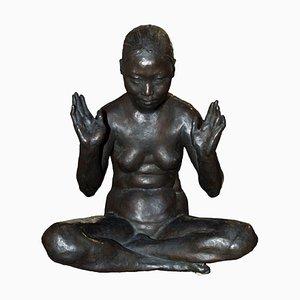 20th Century Bronze Sculpture of Nude Woman