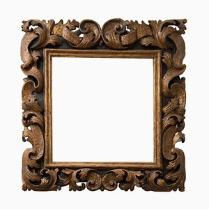 17th Century Sansovino Wood Frame