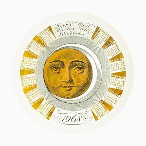 Happy 1968 Calendar Series by Piero Fornasetti, 1968