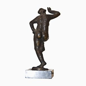 Step Dance Bronze Sculpture by Giuseppe Mazzullo, Italy, 1946