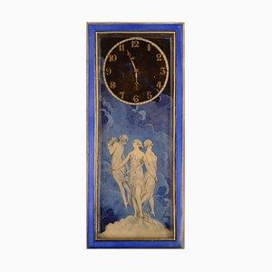 Silberne Jugendstil Uhr