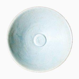 Antike Runde Porzellanschale aus Sung Period Porzellan