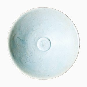 Bol Rond Antique en Porcelaine, Chine