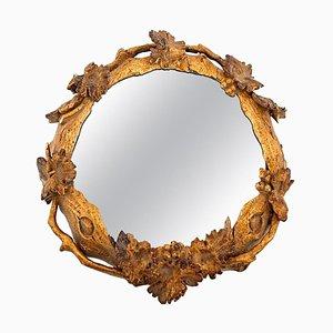 Late-18th Century Small Circular Wall Mirrors, Set of 4