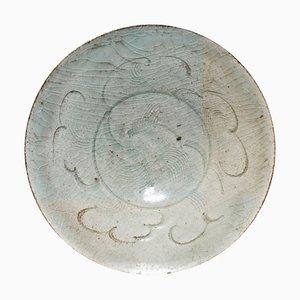 Antike chinesische Steingut Schale aus Sung Periode
