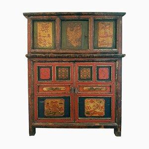 Late-19th Century Tibetan Cabinet