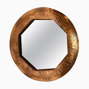 VIntage Mirror by Marco Furgeri, Italy, 1960s