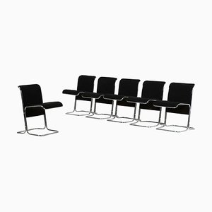 Chairs by Ariberto Colombo, Italy, 1980s, Set of 6