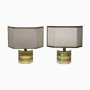 Vintage Table Lamps by Gaetano Sciolari, Italy, 1960s, Set of 2