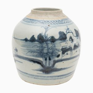 Early-17th Century Chinese Ming Dynasty Ginger Vase