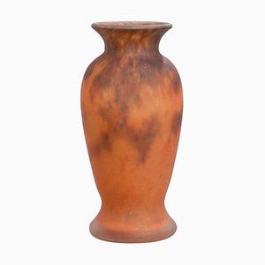 Art Deco Vase von Muller Frères, Frankreich, 1920er