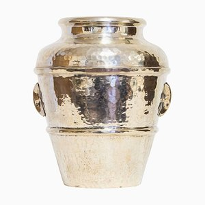 Vintage Silver Vase