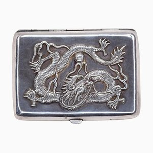Vintage Chinese Silver Good Luck Box