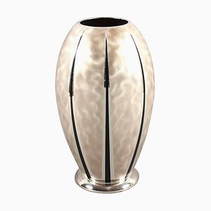 Vintage Ikora Metal Vase from WMF