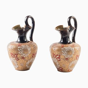 19th Century Decorative Jugs from Royal Doulton, Set of 2