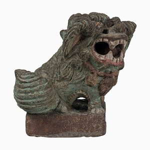 19th Century Chinese Foo Dog Sculpture