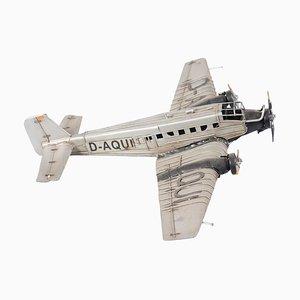 Deutsches Vintage Flugzeugmodell von Junckers D-Aqui